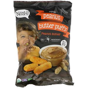 NosH!, Toddler, Organic Peanut Butter Puffs, 2.12 oz (60 g) отзывы