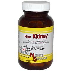 Natural Sources, 動物腎臟製劑,60 粒膠囊