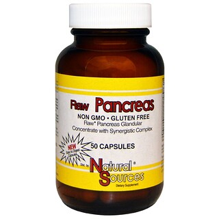 Natural Sources, 生力胰腺健康支持,50粒膠囊