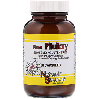 Natural Sources, Raw Pituitary, 50 Capsules