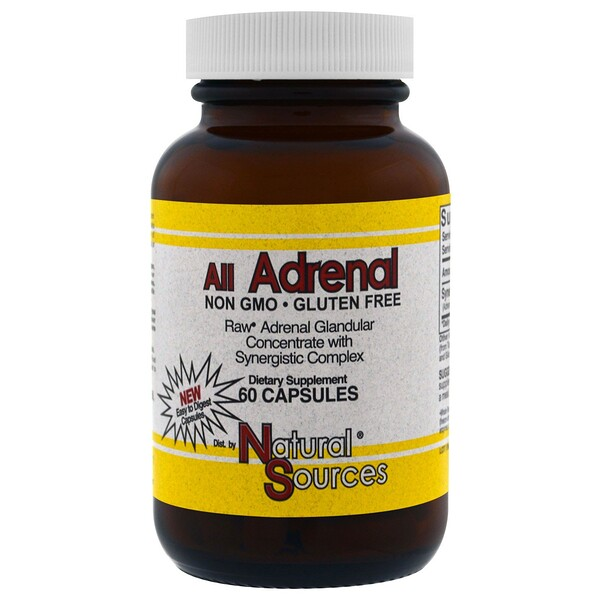 All Adrenal, 60 Capsules