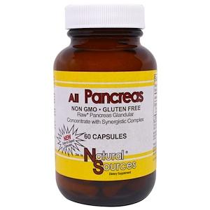 Натурал Соурсес, All Pancreas, 60 Capsules отзывы