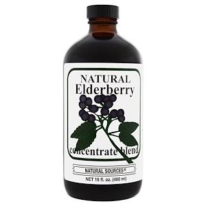 Натурал Соурсес, Natural Elderberry Concentrate, 16 fl oz (480 ml) отзывы покупателей