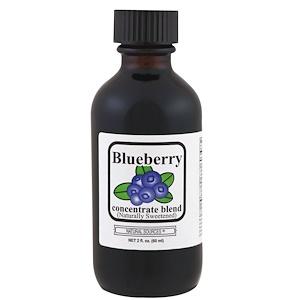 Натурал Соурсес, Blueberry Concentrate Blend, 2 fl oz (60 ml) отзывы покупателей