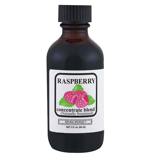 Natural Sources, Raspberry Concentrate Blend, 2 fl oz (60 ml) (Discontinued Item)