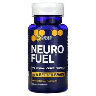 Natural Stacks, Neuro Fuel, 45 Vegetarian Capsules