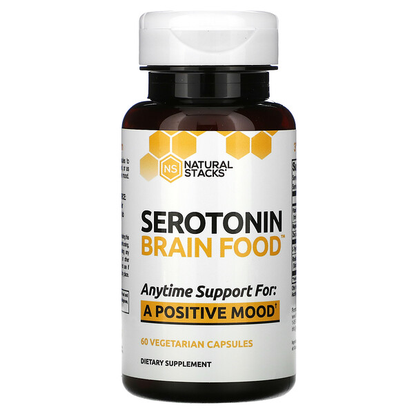 Serotonin Brain Food, 60 Vegetarian Capsules