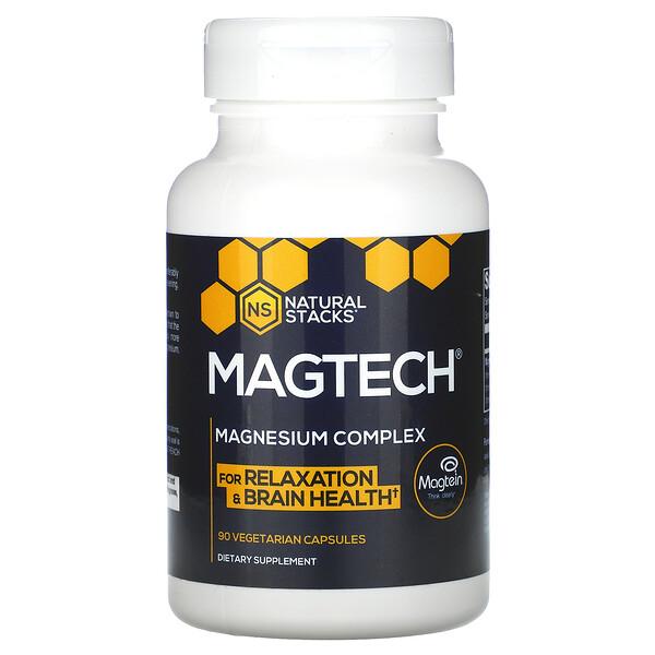 MagTech, Magnesium Complex, 90 Vegetarian Capsules