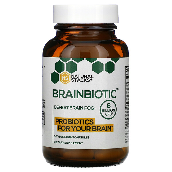 Brainbiotic, 6 Billion CFU, 30 Vegetarian Capsules