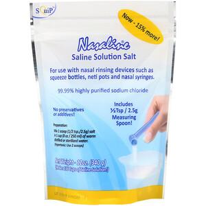 Назалин Скуип, Saline Solution Salt, 12 oz (340 g) отзывы