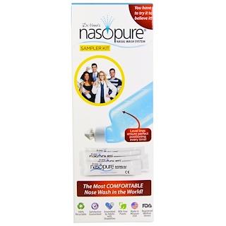 Nasopure, Dr. Hana's, Nasal Wash System, 1 Sampler Kit