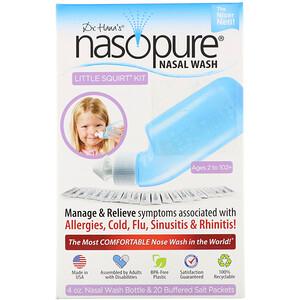 Назопьюр, Nasal Wash System, Little Squirt Kit, 1 Kit отзывы покупателей