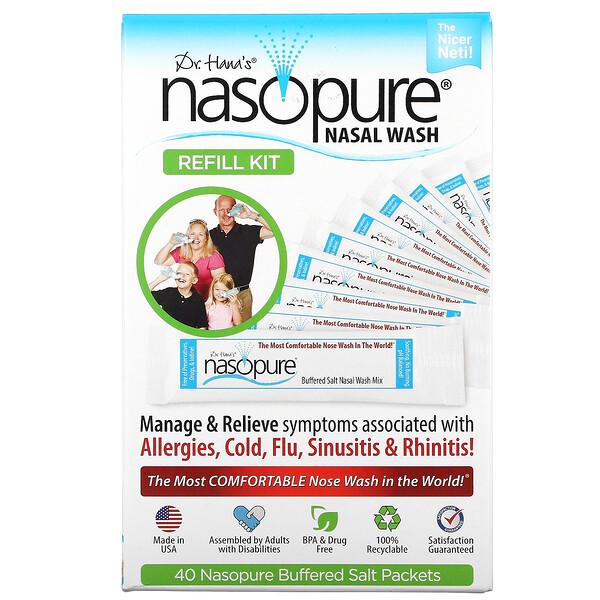 Nasopure, Nasal Wash Refill Kit, 1 Kit