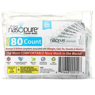 Nasopure, 洗鼻套装,可替换装,80 包