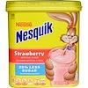 Nesquik, Nestle, Strawberry, 21.8 oz (618 g) (Discontinued Item)