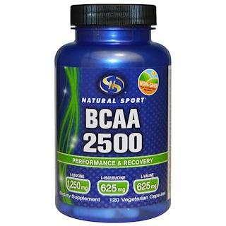 Natural Sport, BCAA 2500, 120 Veggie Caps