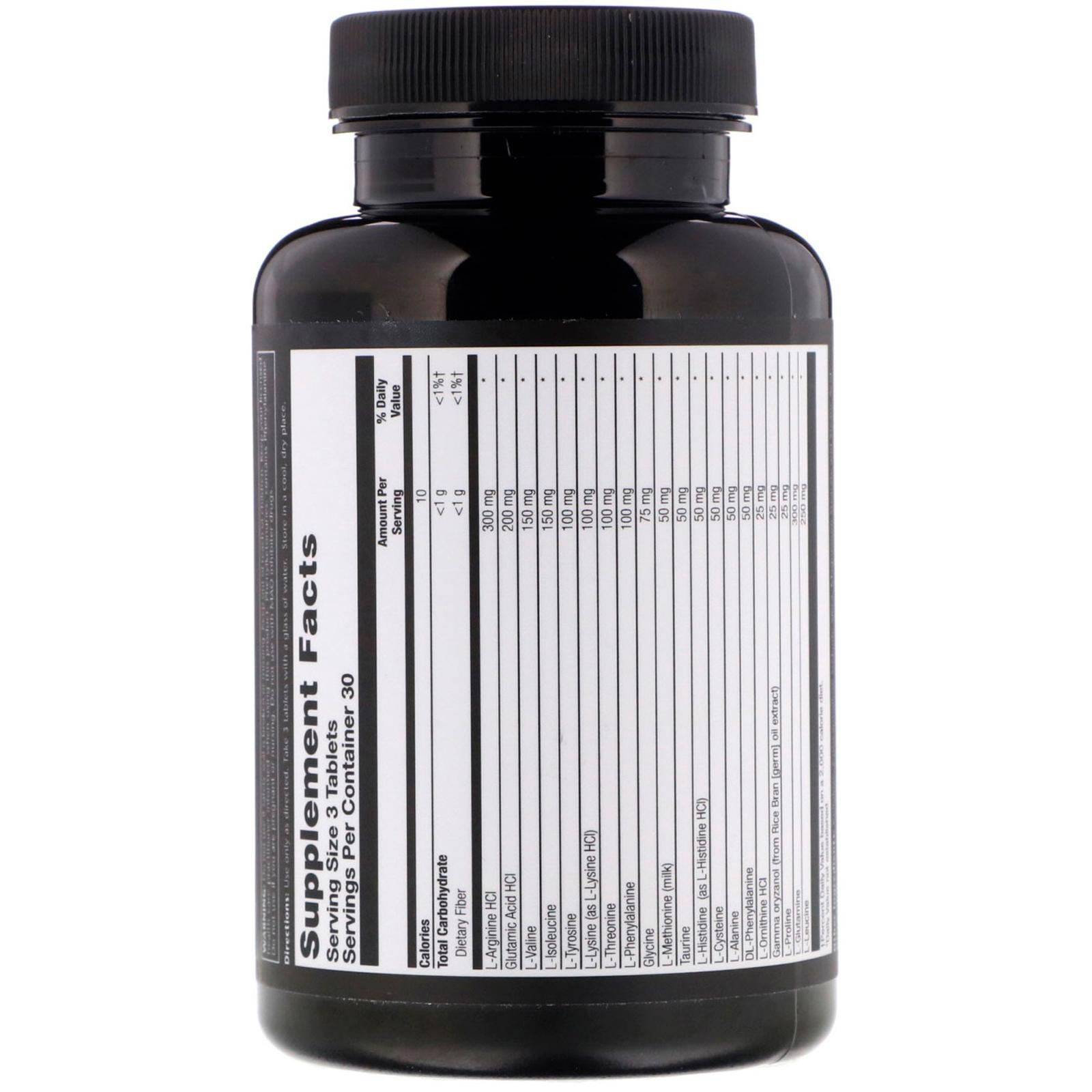 Natural Sport, Amino 2200, 90 Tablets