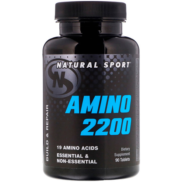 Natural Sport, Amino 2200, 90 Tablets (Discontinued Item)