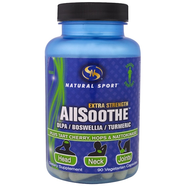 Natural Sport, ALLSoothe, Extra Strength , 90 Veggie Caps (Discontinued Item)