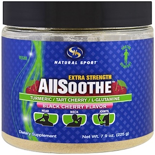 Natural Sport, Extra Strength, All Soothe, Black Cherry Flavor , 7.9 oz (225 g)