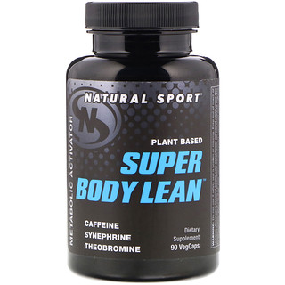 Natural Sport, Planet Based Super Body Lean, 90 VegCaps