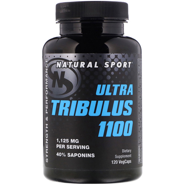 Natural Sport, Ultra Tribulus 1100, 120 VegCaps (Discontinued Item)