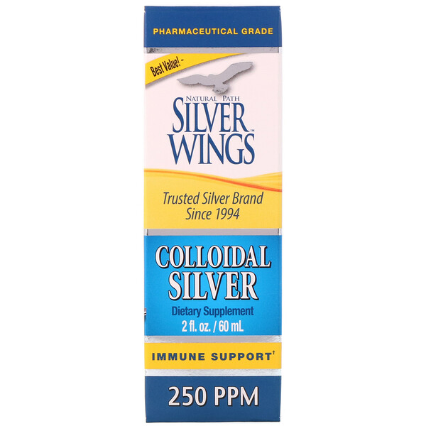 Colloidal Silver, 250 ppm, 2 fl oz (60 ml)