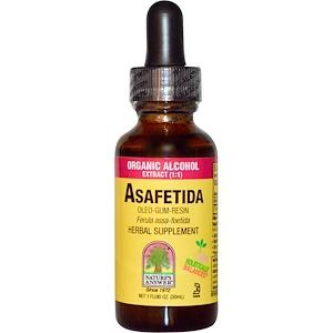 Натурес Ансвер, Asafetida, Organic Alcohol Extract, 1 fl oz (30 ml) отзывы