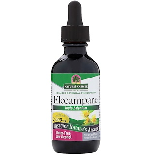 Nature's Answer, Elecampane, 2,000 mg, 2 fl oz (60 ml)