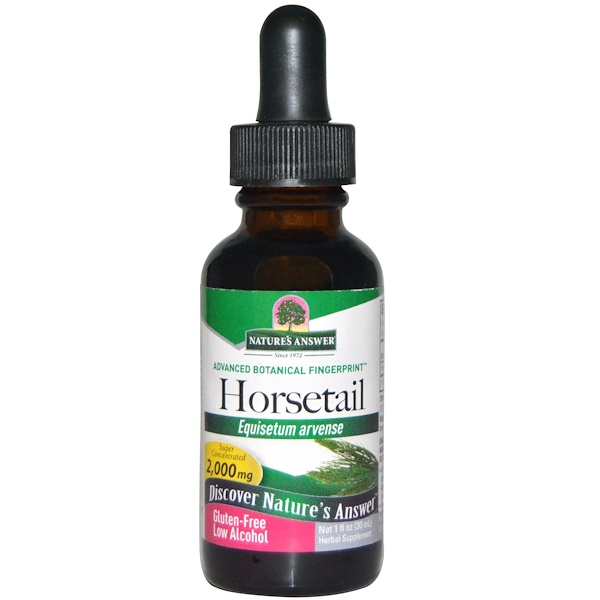 Nature's Answer, Horsetail, Low Alcohol, 2,000 mg, 1 fl oz (30 ml) (Discontinued Item)