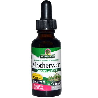 Nature's Answer, Motherwort (Agripalma), Baja en Alcohol, 2000 mg, 1 fl oz (30 ml)