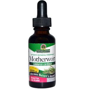 Натурес Ансвер, Motherwort, Low Alcohol, 2000 mg, 1 fl oz (30 ml) отзывы