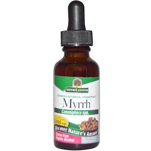 Натурес Ансвер, Myrrh, Organic Alcohol, 2,000 mg, 1 fl oz (30 ml) отзывы покупателей