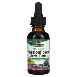 Nature's Answer, Passionflower Aerial Parts, Fluid Extract, 2,000 mg, 1 fl oz (30 ml)