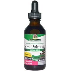 Nature's Answer, Saw Palmetto, Low Organic Alcohol, 2000 mg, 2 fl oz (60 ml)
