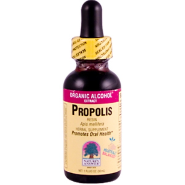 Nature's Answer, Propolis Resin, Organic Alcohol, 1 fl oz (30 ml) (Discontinued Item)