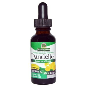 Натурес Ансвер, Dandelion, Alcohol Free, 2,000 mg, 1 fl oz (30 ml) отзывы