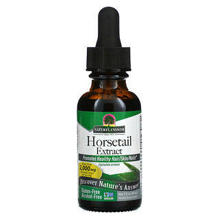 Nature's Answer, Horsetail Extract, Alcohol-Free, 2,000 mg, 1 fl oz (30 ml)