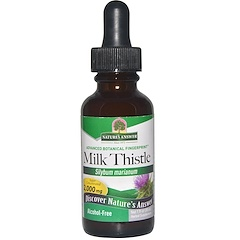 Nature's Answer, Milk Thistle, Alcohol-Free, 2,000 mg, 1 fl oz (30 ml)