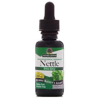 Nature's Answer, Nettle, Urtica Dioica, 2,000 mg, 1 fl oz (30 ml)