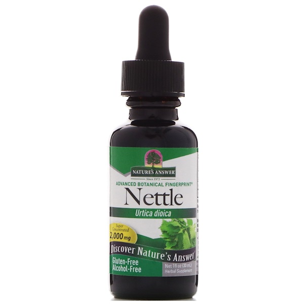 Nettle, Urtica Dioica, 2,000 mg, 1 fl oz (30 ml)
