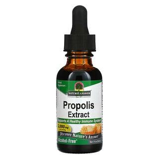 Nature's Answer, Extrait de propolis, Sans alcool, 2000mg, 30ml