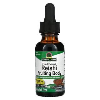 Nature's Answer, Reishi Fruiting Body, Alcohol-Free, 1,000 mg, 1 fl oz (30 ml)