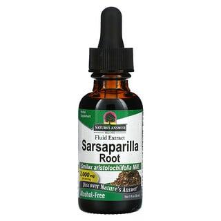 Nature's Answer, Sarsaparilla Root, Fluid Extract, Alcohol Free, 2,000 mg, 1 fl oz (30 ml)