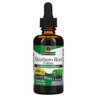 Nature's Answer, Eleuthero Root Extract, Alcohol-Free, 2,000 mg, 2 fl oz (60 ml)
