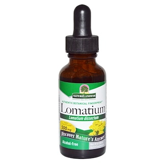 Nature's Answer, Lomatium, Alcohol Free, 1 fl oz (30 ml)