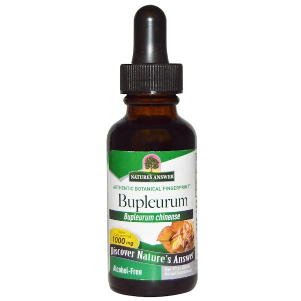 Nature's Answer, Bupleurum, Alcohol-Free, 1000 mg, 1 fl oz (30 ml)