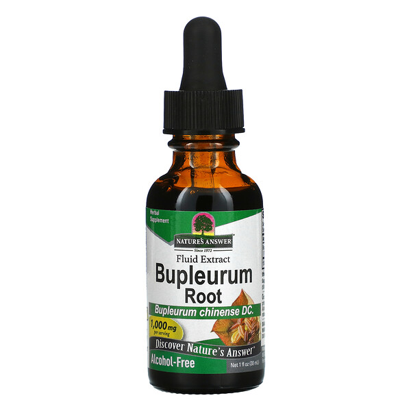 Nature's Answer, Bupleurum Root, Fluid Extract, Alcohol-Free, 1,000 mg, 1 fl oz (30 ml)