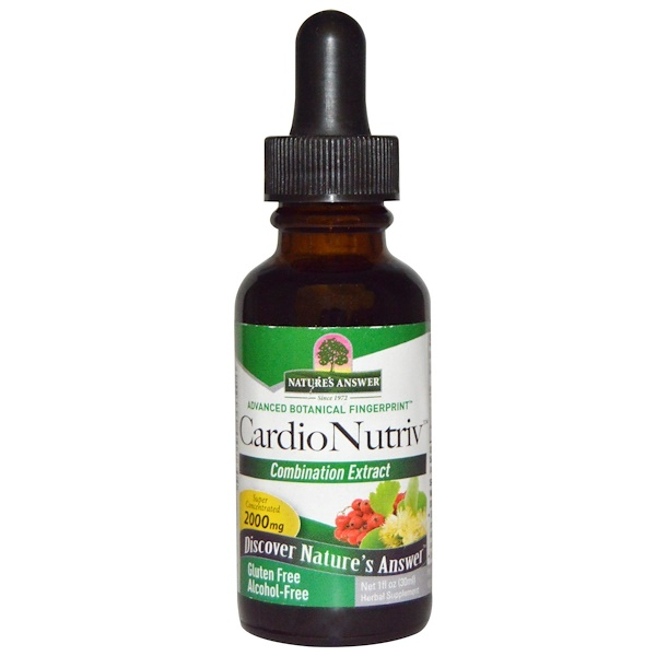 Nature's Answer, CardioNutriv, Alcohol-Free, 2,000 mg, 1 fl oz (30 ml) (Discontinued Item)
