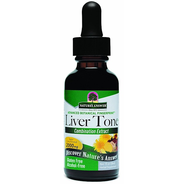 Nature's Answer, Liver Tone, 2,000 mg, 1 fl oz (30 ml) (Discontinued Item)